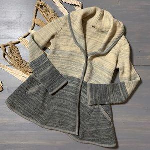 Free People Ombré Wool Jacket